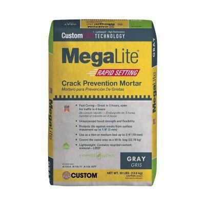 medium bed mortar custom building products versabond lft 50 lb gray