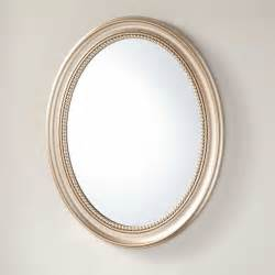recessed bathroom mirror favaloro recessed mount oval medicine cabinet with mirror