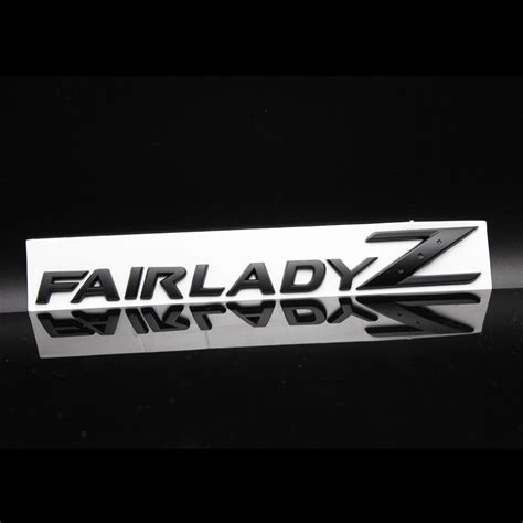 Z Car Stickers by 3d Fairlady Z Car Alloy Emblem Stickers For Nissan
