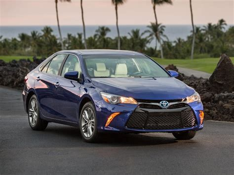 Toyota Vehicles 2016 2016 Toyota Camry Hybrid Specs And Features Carfax
