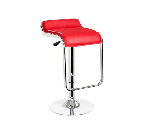 Modern Leather Bar Stools by Dreamfurniture T1048 Eco Leather Bar Stool
