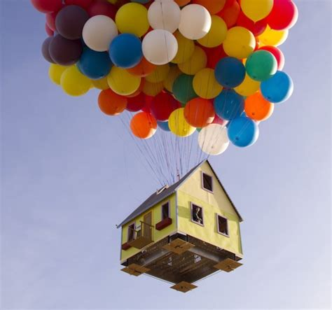 Up Chairs Pixar Floating Up Movie House