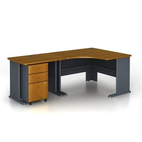 bush furniture corner desk bush business series a 3 piece corner computer desk in