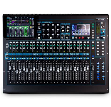 Mixer Qu 24 allen heath qu 24 rackmountable 24 channel digital mixer