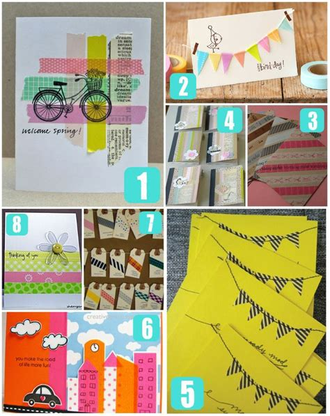 things to do with washi tape 10 best images about washi tape on pinterest washi