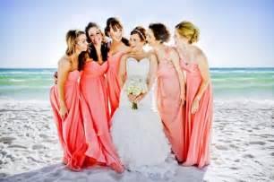 Beautiful bridesmaids dresses for beach weddings 10