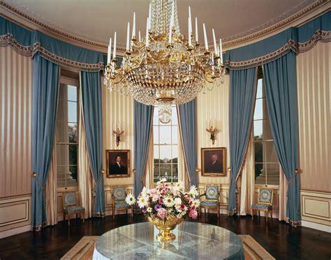 white house fine interiors the blue room white house historical association