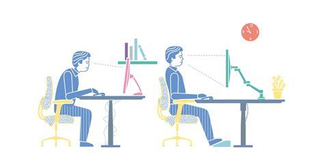 ergonomie  uw werkplek  topvorm dataflex helpt