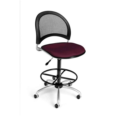 Leather Drafting Chair by Leather Drafting Chair Stool For Comfort