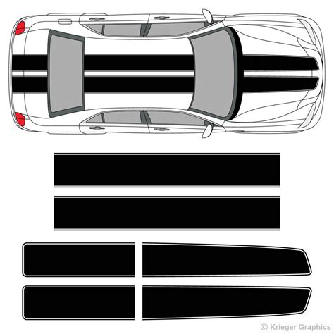 chrysler 300 decals chrysler 300 ez rally racing stripes 3m vinyl stripe