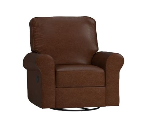 pottery barn leather recliner leather comfort swivel rocker recliner pottery barn kids