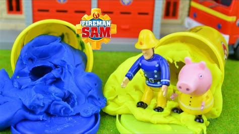 Rescue Peppa Pig fireman sam episodes rescue peppa pig engine storys feuerwehrmann sam
