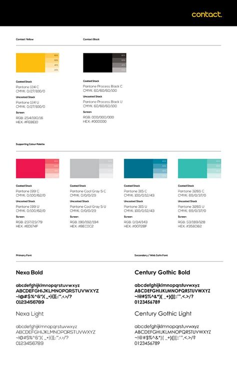 typography style guide 40 best images about brand guidelines on design agency brand manual and palermo