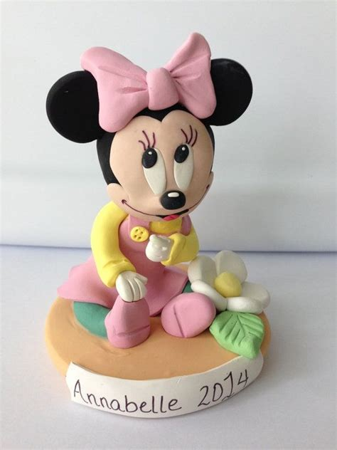 Topper Cake Minnie Mouse minnie mouse birthday or baby shower cake topper and by lemonrow 44 00 lemonrow