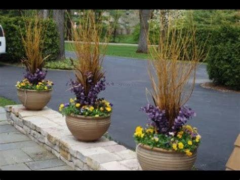 winter flower pots flowers ideas youtube