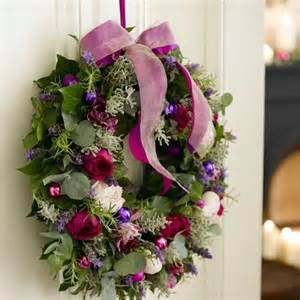 Creating Privacy In Small Backyard How To Make A Christmas Wreath Christmas Craft Idea