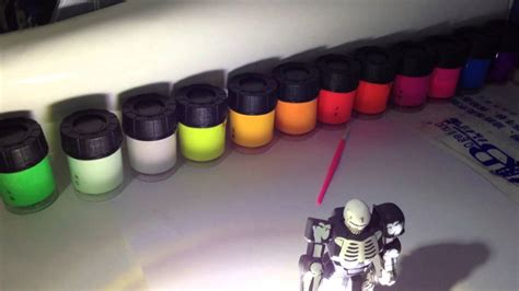 acrylic painting hobby ideas glow in the phosphorescent acrylic hobby paints