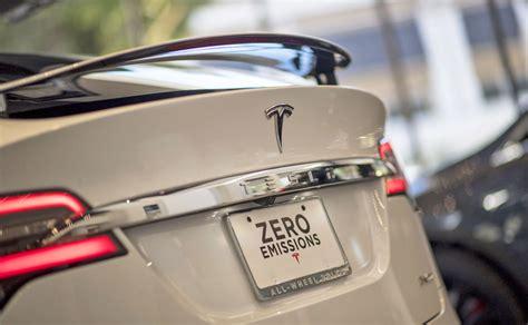 toyota zero emission vehicle tesla edges out toyota for range zero emission