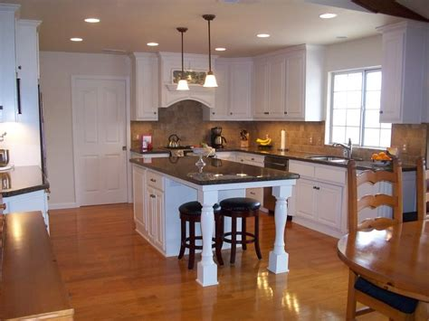 small kitchens with islands for seating pictures small kitchen island with seating on end