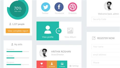download pattern ui 55 best free psd flat ui kits designmaz