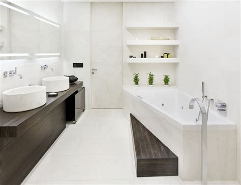 white contemporary bathrooms white bathroom interior at modern triumph palace apartment