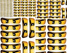 Lego Wall Stickers ninjago etsy de