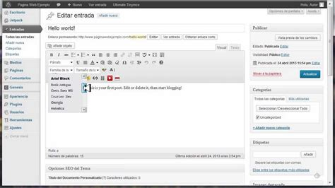 como instalar layout no wordpress como instalar plugins en wordpress build a site info