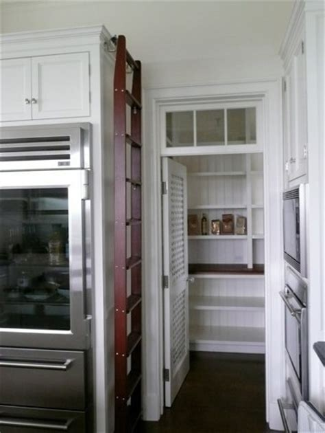 louvered pantry door with transom great kitchens