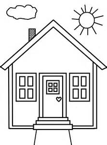 coloring house people and jobs coloring pages for kids houses colouring pages