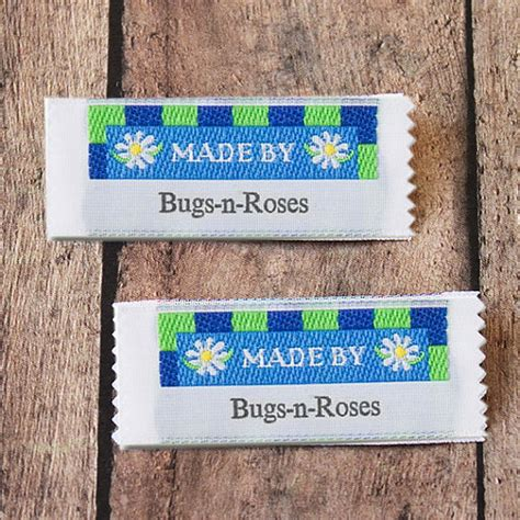 Personalized Tags For Handmade Items - made by woven clothing labels custom labels vintage labels