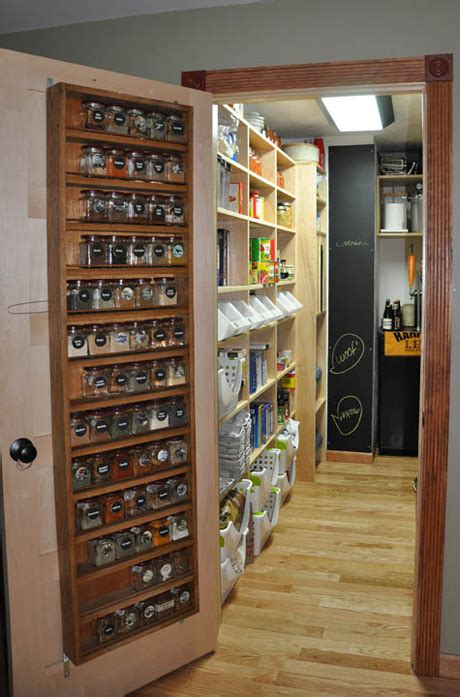 Spice Rack For Pantry Door by 8 Genius Ways To Store Canned Goods And Spices