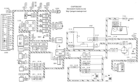 peugeot fans club electrical and wiring diagram for