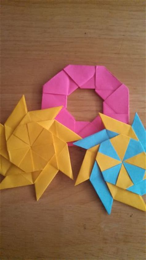 Movable Origami - how to make a moving origami do it yourself
