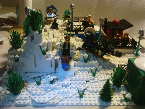 Grosir Snowball Box Moc Moc Gqjy Moc Snowy Hill Lego Town Eurobricks Forums