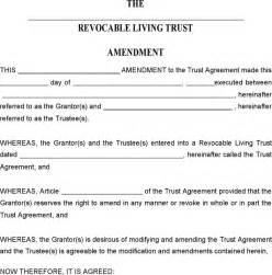 free living trust template sle living will template bestsellerbookdb