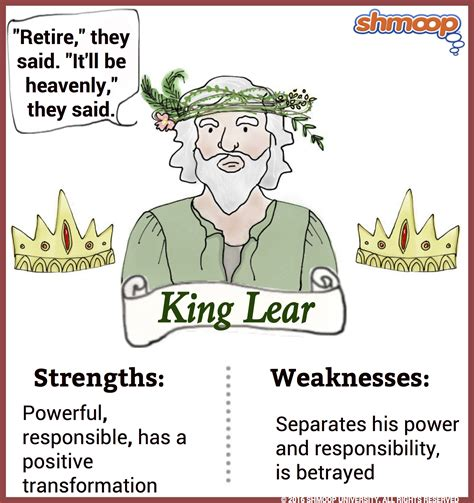 themes in the book king lear king lear in king lear