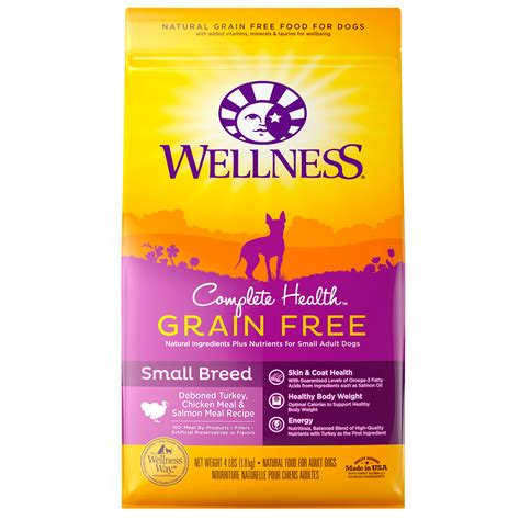 wellness food small breed complete health grain free small breed wellness pet food
