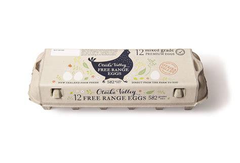 egg labels template otiaka valley free range eggs egg label design by