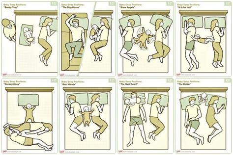 posturas de cama posturas de dormir para padres con bebes en sus camas