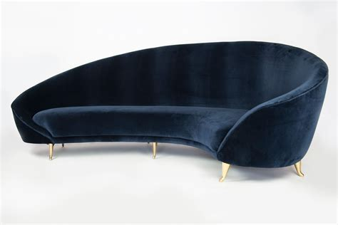 curved sofa pinterest milo baughman modern  curved