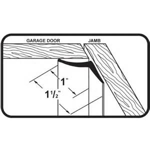 Garage Door Seal Top And Sides M D Building Products 3822 Vinyl Garage Door Top And Sides Seal 30 White Ebay
