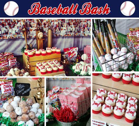 baseball themed birthday party vintage baseball bash