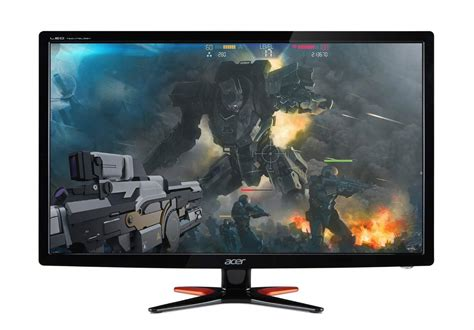 best widescreen monitor for gaming acer gn246hl 144hz gaming monitor review 2018 updated