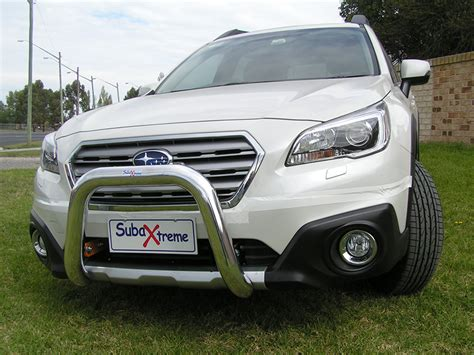 subaru outback bullbar outback 15 onwards nudge bar subaxtreme