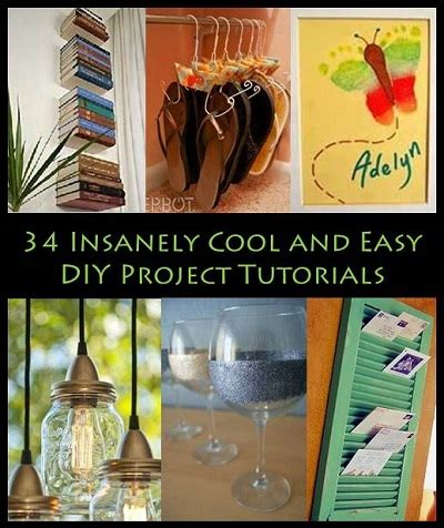 34 insanely cool and easy diy project tutorials image