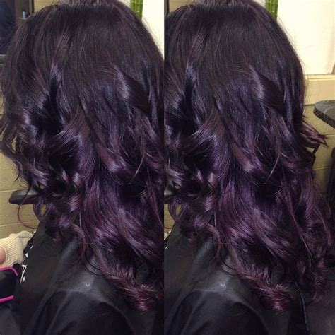 black purple hair color 25 best ideas about purple hair on