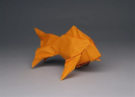Origami Artists - taiwan goldfish opus 716 robert j lang origami