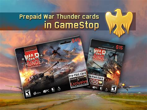 How To Activate A Gamestop Gift Card - shop prepaid war thunder cards in gamestop usa news war thunder