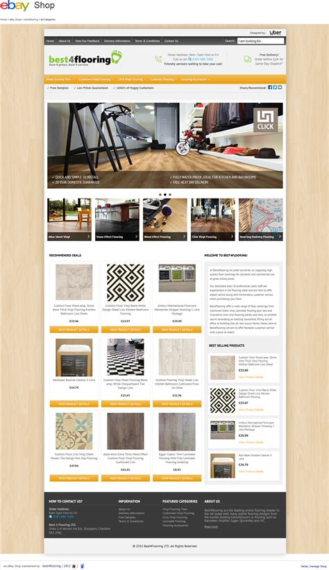 best4flooring ebay shop design project