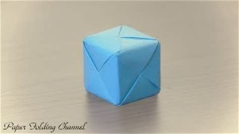 Origami Seamless Cube - origami seamless cube no